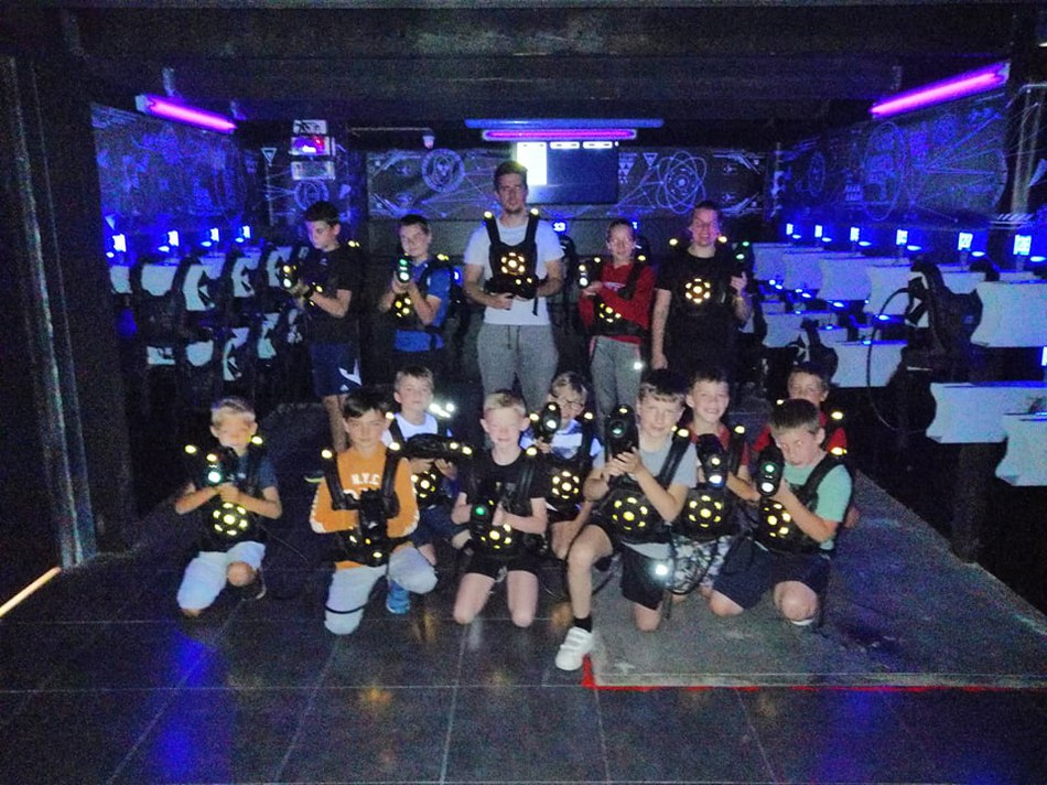 groupe laser game